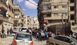 سيتم ترحيل العناصر والعوائل من مدينتي الهامة وقدسيا الى مدينة ادلب (أرشيفية)