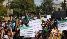 مسيرات وتظاهرات في أرجاء فلسطين المحتلة في مئويّة
