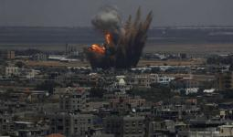 طائرات الاحتلال تستهدف مواقع في قطاع غزة