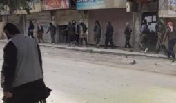 صورة مسربة لعناصر داعش في اليرموك