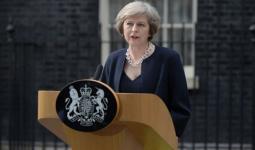ئيسة الوزراء البريطانية تيريزا مي