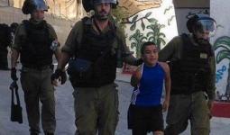 خلال اعتقال قوات الاحتلال لطفل من مخيم شعفاط