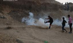 مواجهات واعتقالات تطال أربعة مخيمات للاجئين بالضفة المحتلة وقطاع غزة