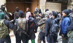 داعش في مخيم اليرموك