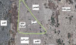 قصف واشتباكات في مخيّم اليرموك وحركة خروج لقيادات