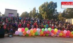 جانب من النشاط الترفيهي في مخيم زيزون