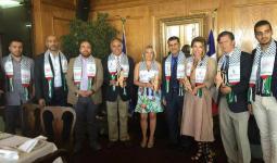 انتماء تزور البرلمان التشيلي للتحضير لأنشطة داعمة للقضية الفلسطينية
