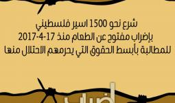 اليوم الحادي عشر.. انضمام داعمين جدد لإضراب الأسرى وإضراب شامل في الأراضي المحتلة