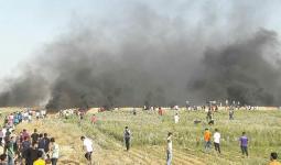 شهيد وإصابات في مواجهات شرقي قطاع غزة