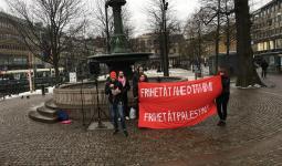 أحزاب ومجموعات سويدية تتضامن مع عهد التميمي والأسرى الفلسطينيين