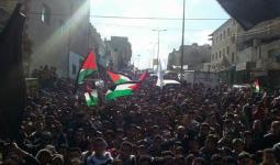 تظاهرات حاشدة في الأردن دعماً للقدس المحتلة.. واعتقال أحد المتظاهرين