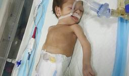 الطفلة الرضيعة سيلين عزيز