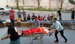 صورة لأحد المسعفين الذين استهدفتهم قوات الاحتلال يوم الجمعة الماضي قرب السياج الأمني العازل