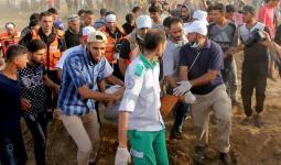 استشهاد فلسطيني مُتأثراً بجراحه في مسيرات العودة