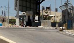 من موقع إطلاق النار على الشاب الفلسطيني على حاجز الكونتينر