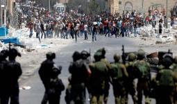 مواجهات واعتقالات في الضفة المحتلة واعتداء على شاب من مخيّم العرّوب