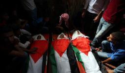 مُطالبات فلسطينيّة بالشروع في تحقيق بجريمة قتل الاحتلال أطفال في غزة