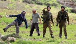 إصابات في صفوف طلاب مدرسة عوريف جراء اعتداء المستوطنين وجنود الاحتلال