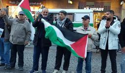 وقفة في برلين دعماً للأسرى في سجون الاحتلال