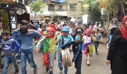 مُخيّم برج البراجنة: مسيرة وكرنفال للأطفال في اليوم العالمي لحماية الطفل من الإساءة