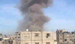 إصابات في انفجار بناية سكنيّة بمُخيّم البريج وسط قطاع غزة