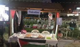 فراس عباس ..  استغل مكان لجوئه للتعريف بالأطباق الفلسطينية