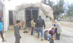 لاجئون فلسطينيون من سوريا - مخيم الجليل - بعلبك 2013  / موقع منظمة