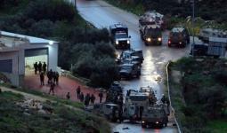 فلسطين المحتلة - من موقع إطلاق النار على الشبّان الفلسطينيين غربي رام الله المحتلة