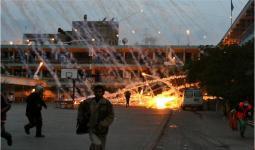 استهداف طيران الاحتلال لإحدى مدارس