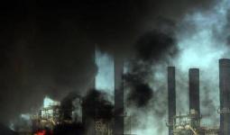 عقب قصف طيران الاحتلال محطة توليد الكهرباء الوحيدة في قطاع غزة