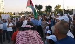 اعتصام أمام مجلس الوزراء رفضاً للمشاركة في مؤتمر البحري