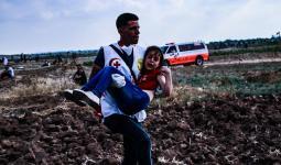 عشرات الإصابات جراء اعتداء قوات الاحتلال على مُتظاهري مسيرات العودة
