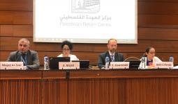 من الاجتماع في جنيف - مركز العودة الفلسطيني
