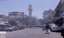 غضب في المخيمات الفلسطينية ضد إجرءات وزارة العمل - مخيم برج البراجنة