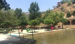 منتزه حلو الرواق - نهر الليطاني