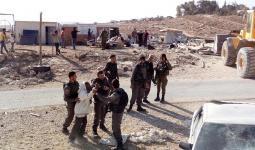 الاحتلال مُستمر في هجمته.. هدم آبار مياه وأراضي في مسافر يطا جنوبي الخليل