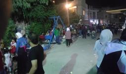 طقوس عيد خجولة ..الصورة من مخيّم سبينة