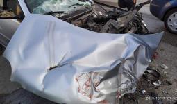 المركبة التي كان يستقلّها شبّان فلسطينيين حين أطلقت قوات الاحتلال عليهم النار فجراً