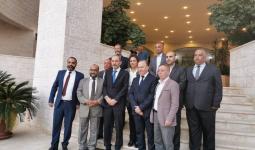 وزير الخارجية الأردني عقب اجتماعه مع إدارة