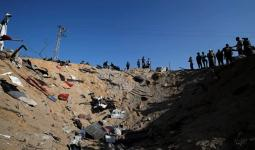 من آثار العدوان على غزة الذي استمر ثلاثة أيام