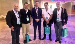 الوفد المُشارك من الكيان الصهيوني في المؤتمر الطبي بالدوحة