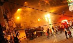 (15) إصابة في مواجهات عنيفة اندلعت قُرب مُخيّم بلاطة