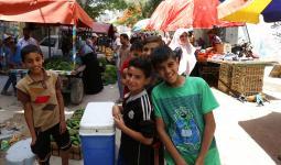 حملة خيريّة جديدة في مُخيّم البريج تستهدف العائلات المحتاجة