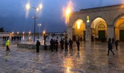 قوات الاحتلال تقتحم باحات الأقصى فجراً – وكالات