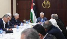 اجتماع القيادة الفلسطينية