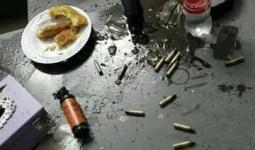 صورة من موقع الاشتباك في مخيم عسكر
