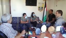 من موقع مخيّم البص
