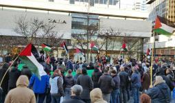 تظاهرة حاشدة في روتردام وتوقيع عريضة للبرلمان الهولندي دعماً للقدس