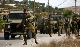 إصابة 4 جنود من جيش الاحتلال جراء انقلاب جيب عسكري بعد رشقه بالحجارة في سلواد