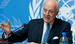 مبعوث الأمم المتحدة إلى سوريا ستيفان ديمستورا